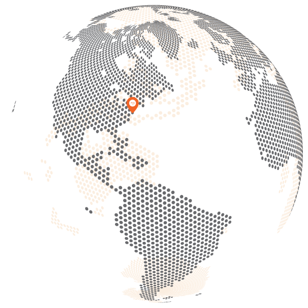 NPGroup's location on the globe