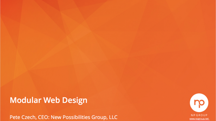 Webinar: In-Depth- Modular Web Design & CMS Integration